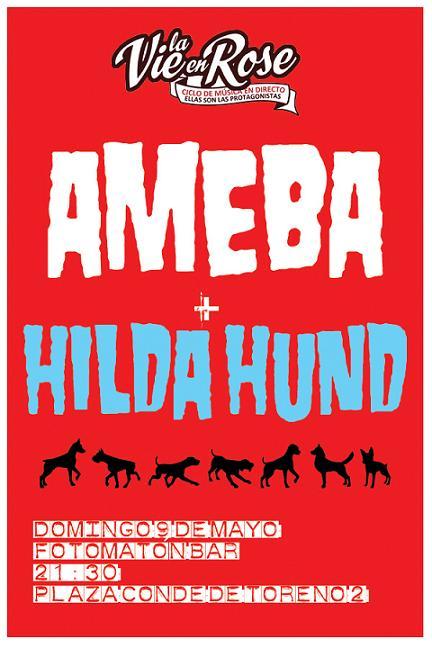 Ciclo+La+Vie+en+Rose+AMEBA++HILDA+HUND++ameba+hildahund.jpg